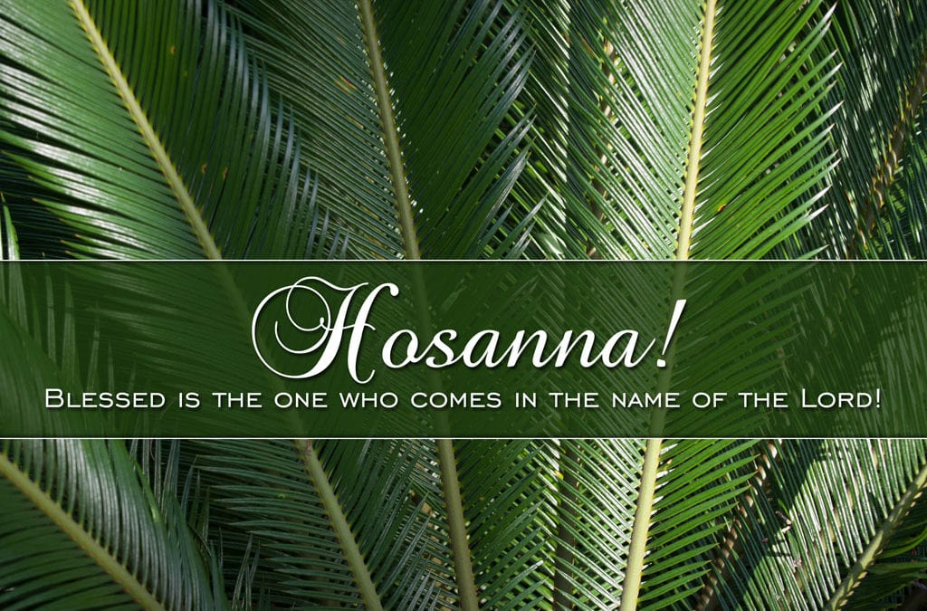 Hosanna in the highest heaven!